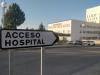 Acceso al hospital Santa Bárbara.