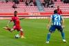 Lillo en el último partido disputado frente al Deportivo de la Coruña.