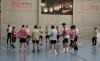 Una sesión de entrenamiento del BM Soria. /CBMS