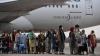 Refugiados afganos tras partir de su país de origen. /TVE