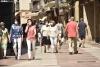 El centro de Soria, un día del presente verano.