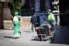 Dos empleados de limpieza en Soria.