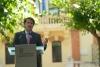 Mañueco, hoy, en rueda de prensa. JCYL