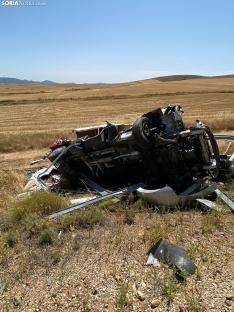 Foto 5 - Una fallecida y un herido grave en un accidente en Buberos