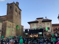 Vinuesa vive su primer gran noche como uno de los pueblos más bonitos de España