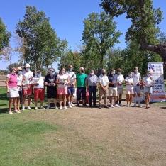 Ganadores del XV Campeonato de Golf de la Hermandad de Donantes de Soria