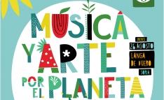Música y arte por el planeta, este jueves en Langa