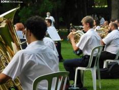 Una imagen del concierto de esta tarde en la Alameda de Cervantes. /SN