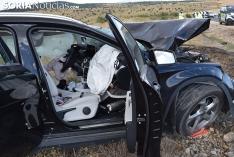 Foto 4 -  Dos fallecidos y dos heridos graves por un choque fronto-lateral en la N-122