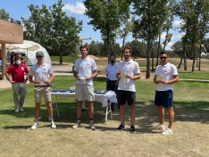 Foto 3 - Meritorio segundo puesto del Club Golf de Soria en el Campeonato Interclubes de Castilla y León