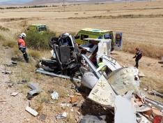 Foto 4 - Una fallecida y un herido grave en un accidente en Buberos
