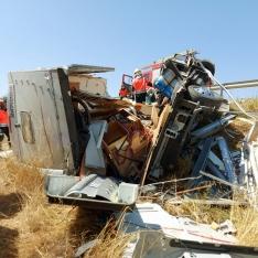 Foto 3 - Una fallecida y un herido grave en un accidente en Buberos