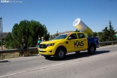 Foto 7 - Galería: El Burgo vibra con La Vuelta en una jornada de ambiente festivo