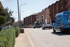 Foto 8 - Galería: El Burgo vibra con La Vuelta en una jornada de ambiente festivo