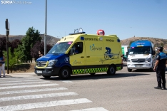 Foto 2 - Galería: El Burgo vibra con La Vuelta en una jornada de ambiente festivo