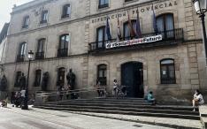 Una imagen del Palacio Provincial hoy. /Dip.