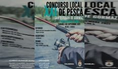 El sábado, concurso local de pesca en San Esteban
