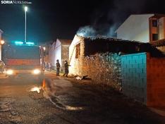 Incendio en una vivienda de Ólvega.