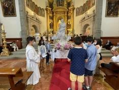 Foto 3 - Galería de imágenes: la Virgen de Éfeso es recibida por los agredeños