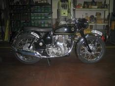 Algunas de las motos que recorrerán Soria.