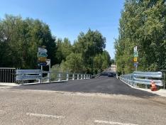 Finalizan las obras en el puente de Garray