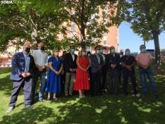 La foto de la unidad del PP soriano. Soria Noticias