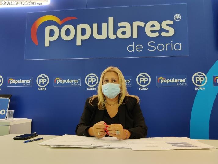 Yolanda de Gregorio avisa: 'No me va a condicionar ni Génova ni Valladolid'
