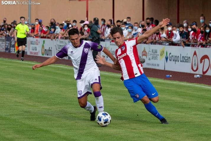 Los penaltis deciden el Memorial Domingo Heras entre Numancia y Atlético de Madrid B