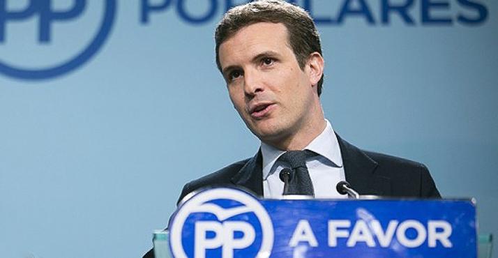 Pablo Casado agradece a Emiliano Revilla su labor en el PP