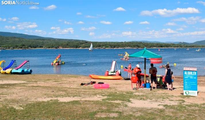 El Ayuntamiento de Soria licita el bar restaurante de Playa Pita y el campamento de Las Cabañas