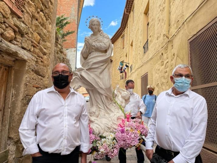 Galería de imágenes: la Virgen de Éfeso es recibida por los agredeños