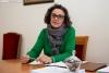 Belinda Peñalba, alcaldesa de San Leonardo de Yagüe. /María Ferrer