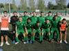 Los jugadores del Cerdanyola antes del partido frente al C.D. Brea./ Foto: C