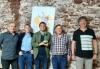 Foto 1 - La Asociación Amigos de Sárnago recibe el Tésera de Hospitalidad Celtibérica de Gotor