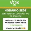 Foto 2 - VOX Soria inicia una recogida de material escolar