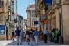 El centro de Soria en un día de verano.
