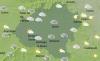 El cielo soriano a las 12:00 horas de este miércoles 15 de septiembre. /AEMET