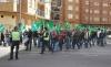 Una manifestación de ASAJA en la capital soriana. /SN