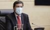 l consejero de Economía y Hacienda, Carlos Fernández Carriedo, durante su comparecencia hoy. /Jta.
