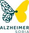 El nuevo emblema de Alzheimer Soria. /ES