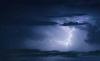 Foto 1 - Un centenar de rayos en las tormentas de ayer en la provincia
