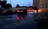 Una de las calles del Calaverón ayer por la noche. /SN