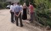 Una imagen de la visita de la delegada. /Jta