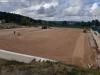 Obras en el campo de fútbol de Golmayo, en Las Camaretas.
