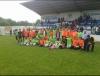 Imagen de varios jugadores de la S.D. Almazán./ Foto: Ayuntamiento de Almazán.