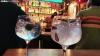 Un bar de copas de León este verano. SN