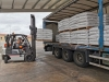 Una imagen del cargamento remitido a Ávila. /Copiso