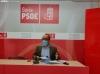 Luís Rey, hoy, en rueda de prensa. SN
