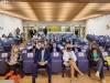 Los consejeros de sanidad de las 3 comunidades, reunidos hoy en Soria. SN