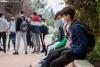Escolares sorianos en la Vuelta al Cole de 2020. SN